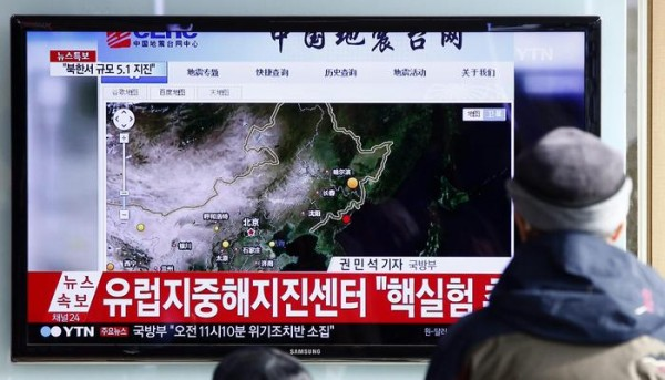 North Korea conducts H-bomb test
