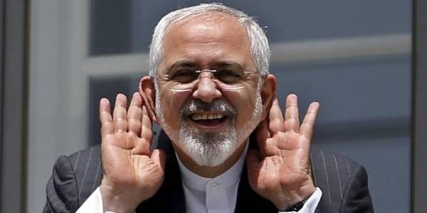 Il ministro degli esteri iraniano Javad Zarif