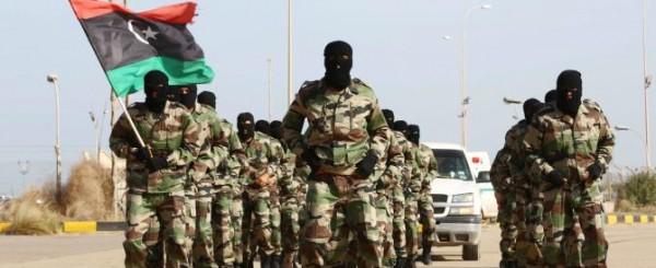 Forze armate libiche, ma nel 2014.
