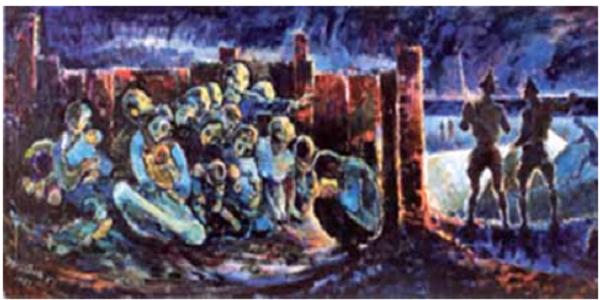 Salvataggio degli ebrei danesi, pittura