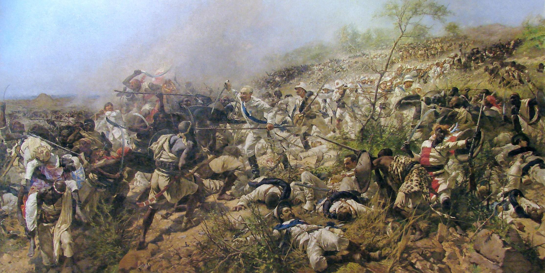 La battaglia di Dogali 1897