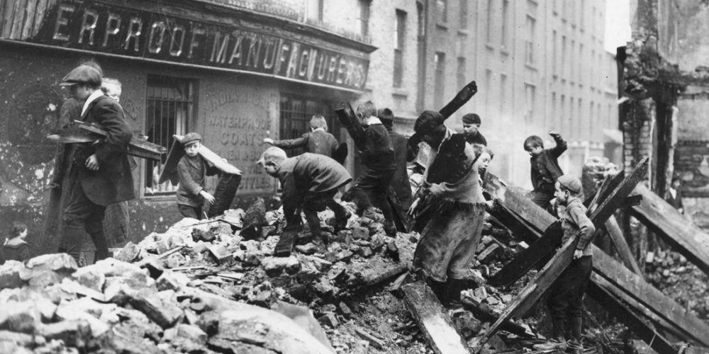 IRLANDA 1916 RAGAZZINI