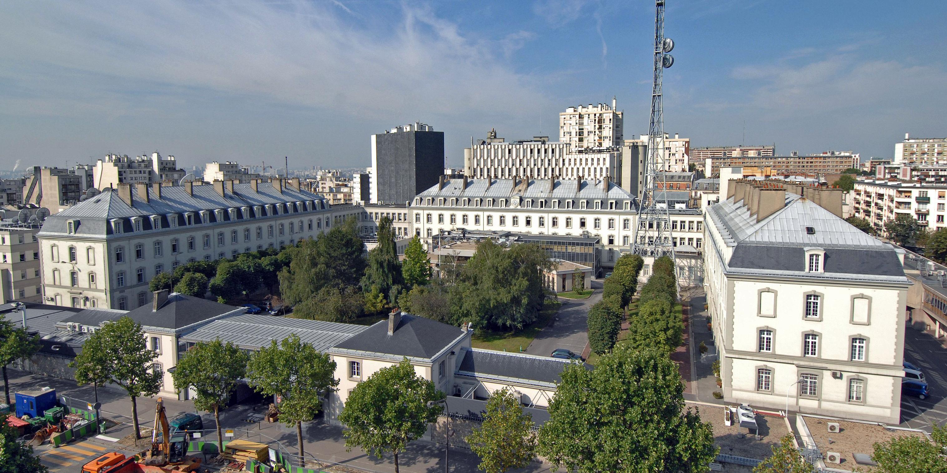 La sede ufficiale del DGSE, Direction générale de la sécurité extérieure, a Parigi