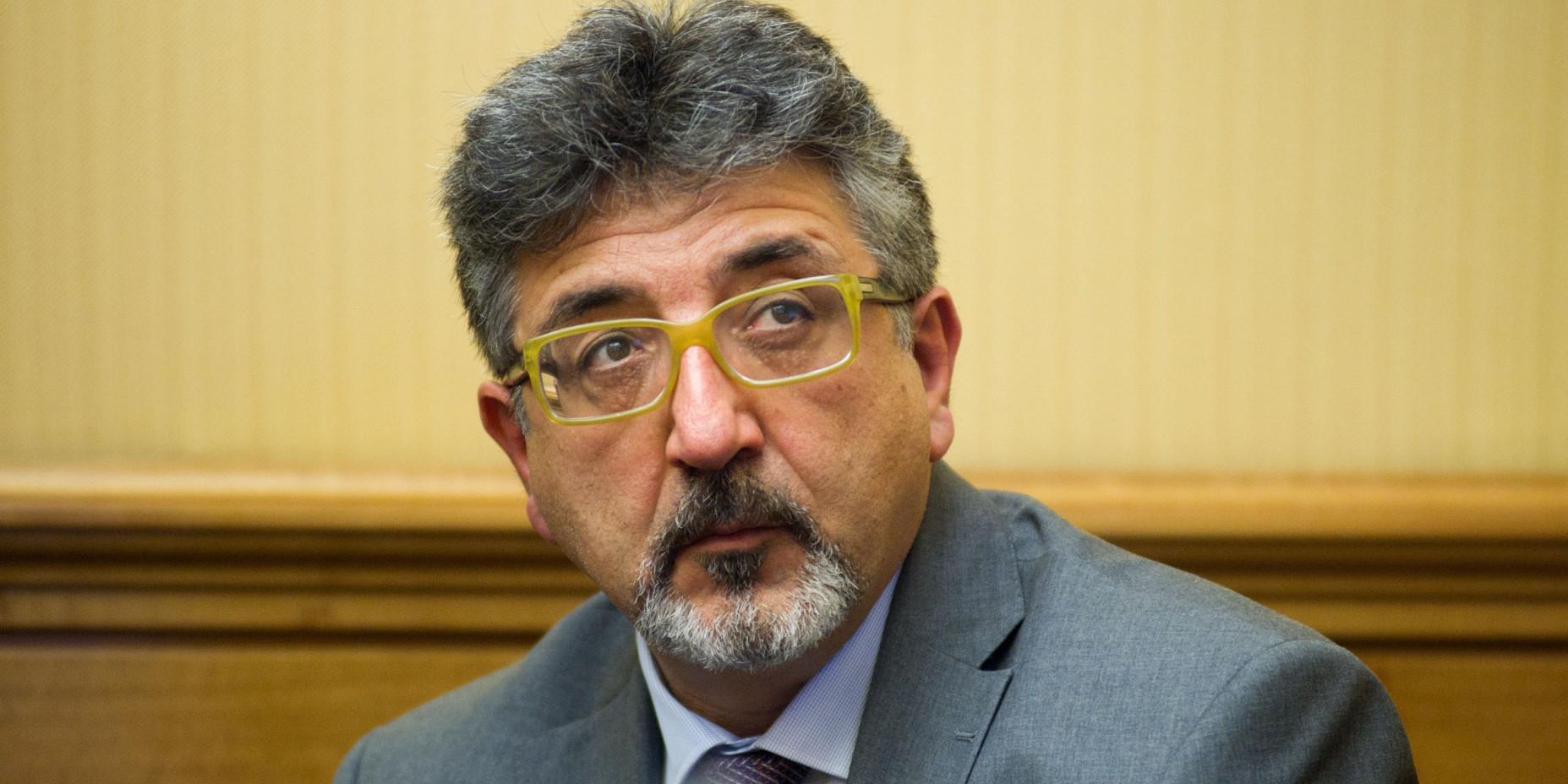 Il senatore M5S Bartolomeo Pere