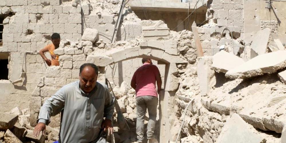 Aleppo macerie fb
