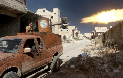 Aleppo mitraglia cop