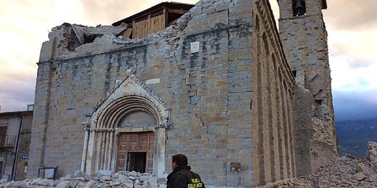La cattedrale di Amatrice