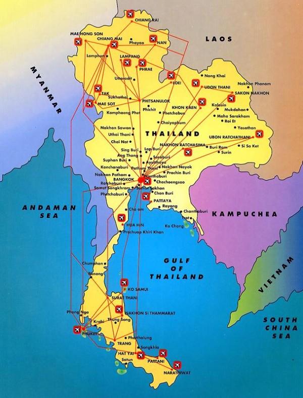 situazione politica thailandia