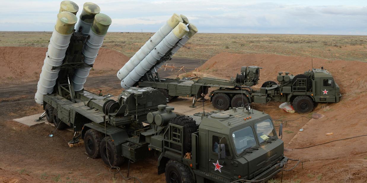 Postazioni antiaree e antimissile russe