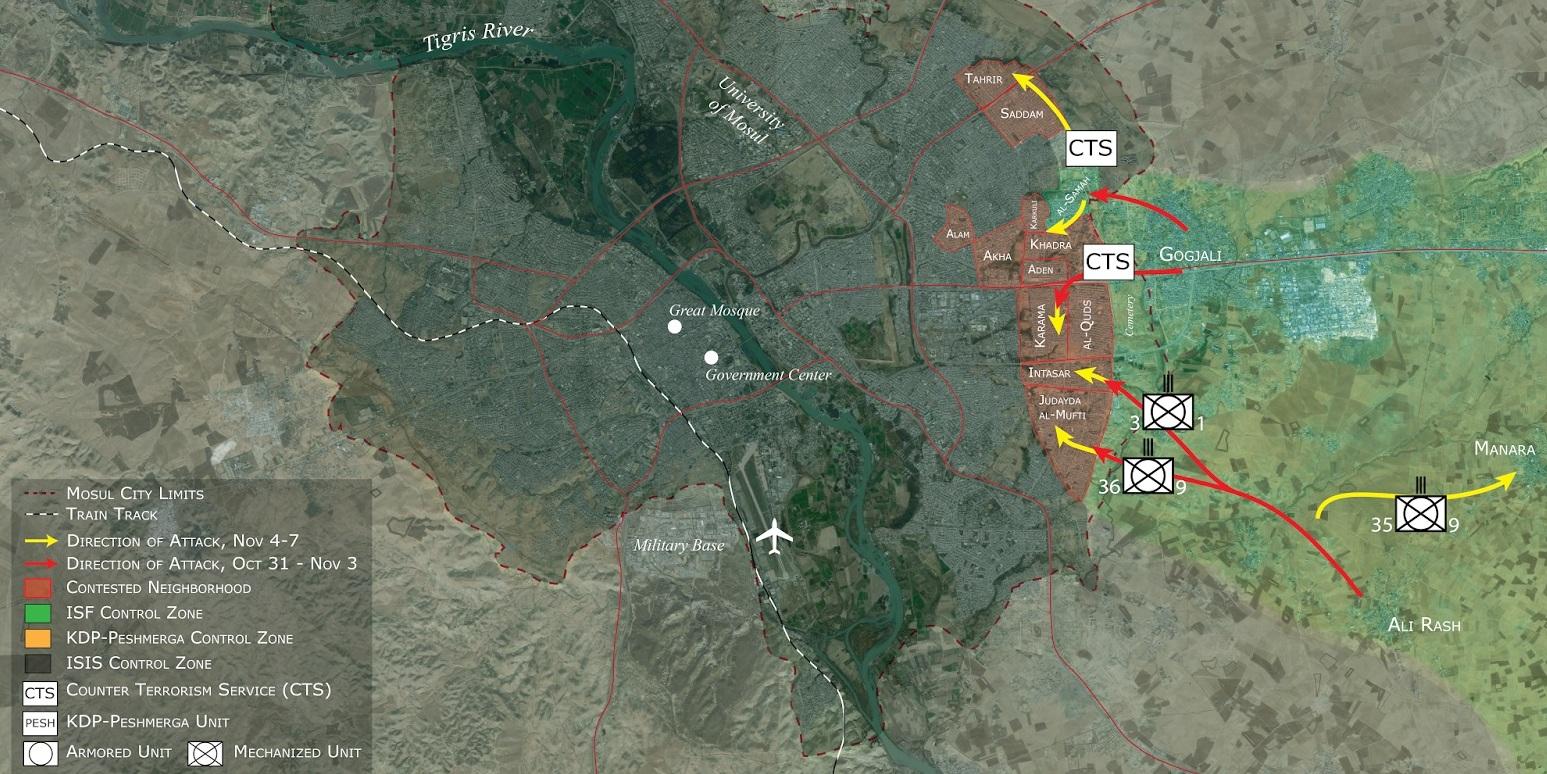 I dettagli della 'Mosul conquistata'