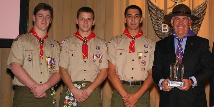 Il prossimo Segretario di Stato 'Eagle Scout'
