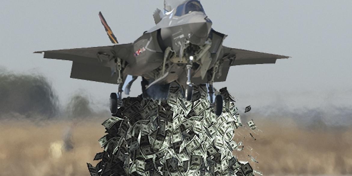 F-35 mare di soldi
