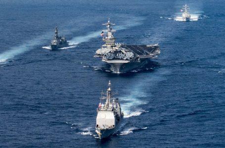 Flotta Usa verso la Corea