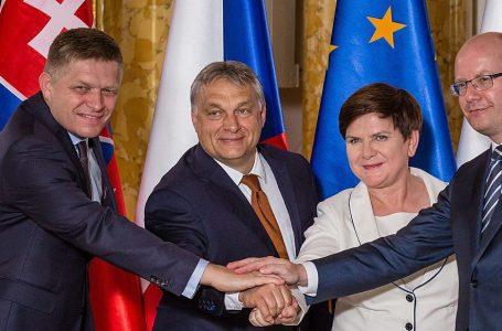 La brutta Europa di Visegrad, mai per amore, solo per soldi