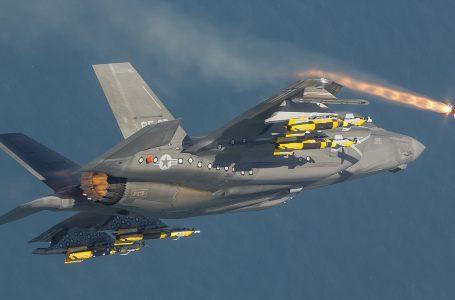 F-35 italiano invisibile e nascosto