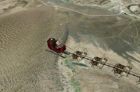 Anche la rotta di Babbo Natale sotto controllo Norad, Difesa Usa