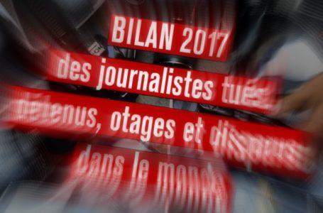 Giornalisti bersaglio, 65 uccisi nel 2017