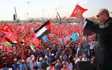 Erdogan rivuole Gerusalemme musulmana