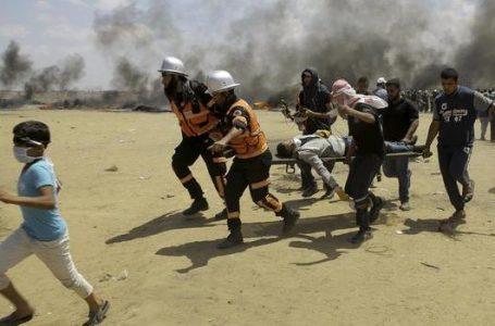 Gaza massacro 60 morti 2800 feriti ma l'US embassy è a Gerusalemme