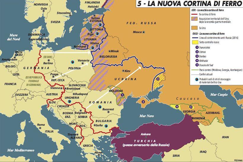 Paure baltiche dagli Zar a Putin