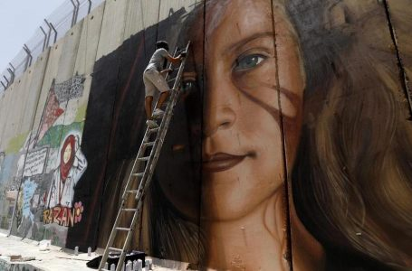 Tamimi, 17 anni, libera dopo 8 mesi, in carcere l'italiano del murales