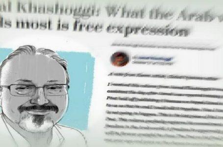 L'ultimo editoriale di Khashoggi, <br>'Libertà di espressione è la cosa di cui il mondo arabo ha più bisogno'