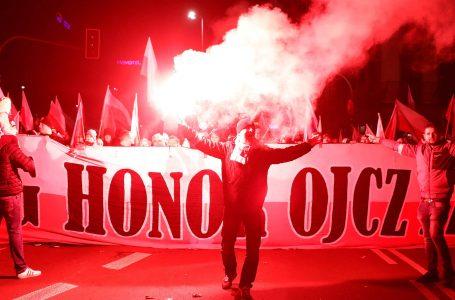 Polonia, 100 anni dell'indipendenza, con neonazisti e slogan razzisti