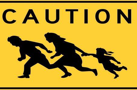 Pericolo! Attraversamento migranti in fuga