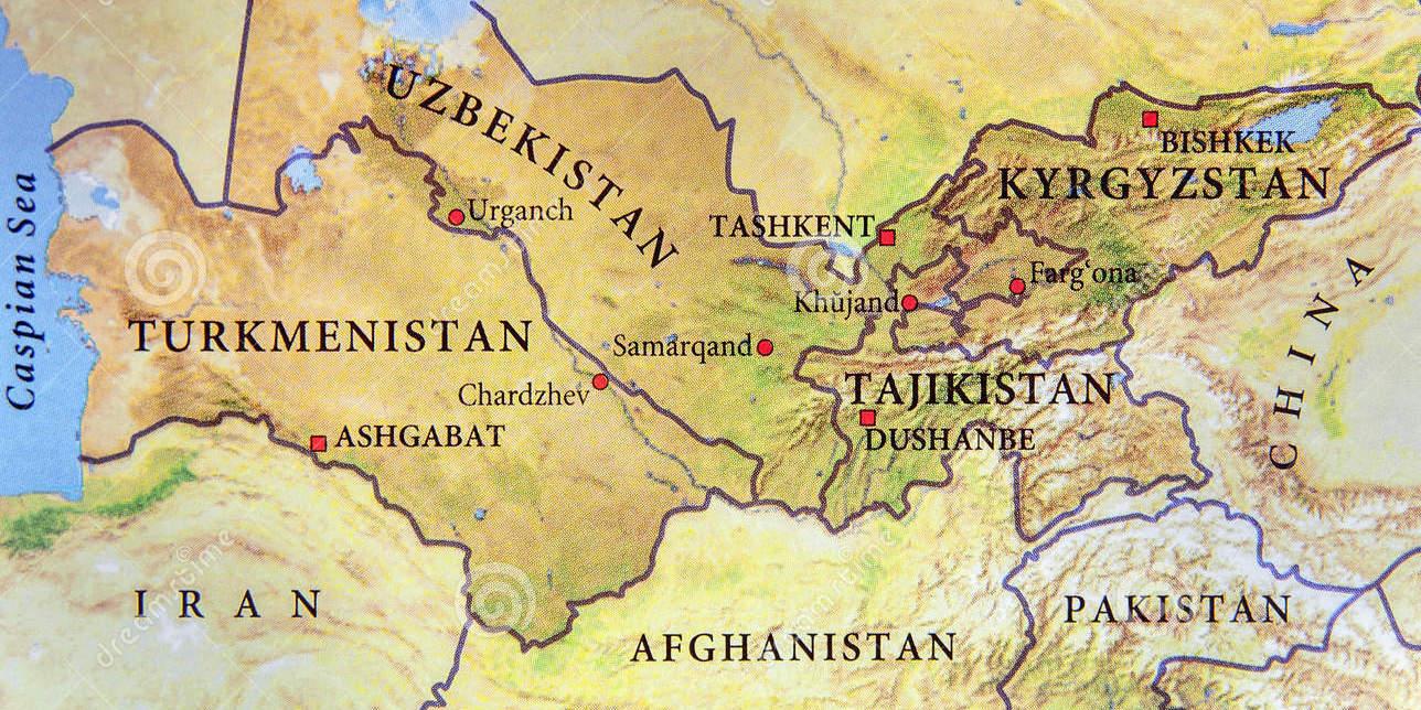 Asia Centrale Cartina Geografica.Emergenza Ex Isis In Asia Centrale L Allarme Dalla Russia