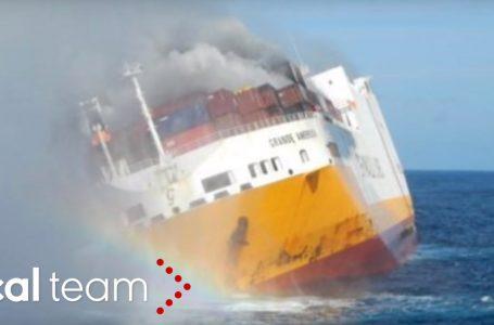 Affonda cargo italiano, è disastro ecologico ma per i media non esiste