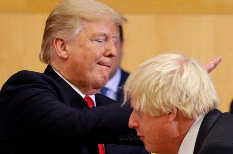 Sparate: Trump come Washington e Boris Johnson con la 'Brexit hard'