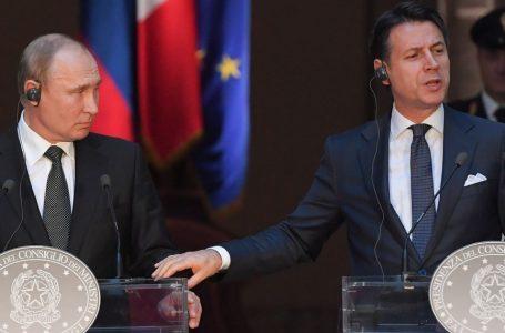 Russia-Italia, sovranismo a parole ma sanzioni americane
