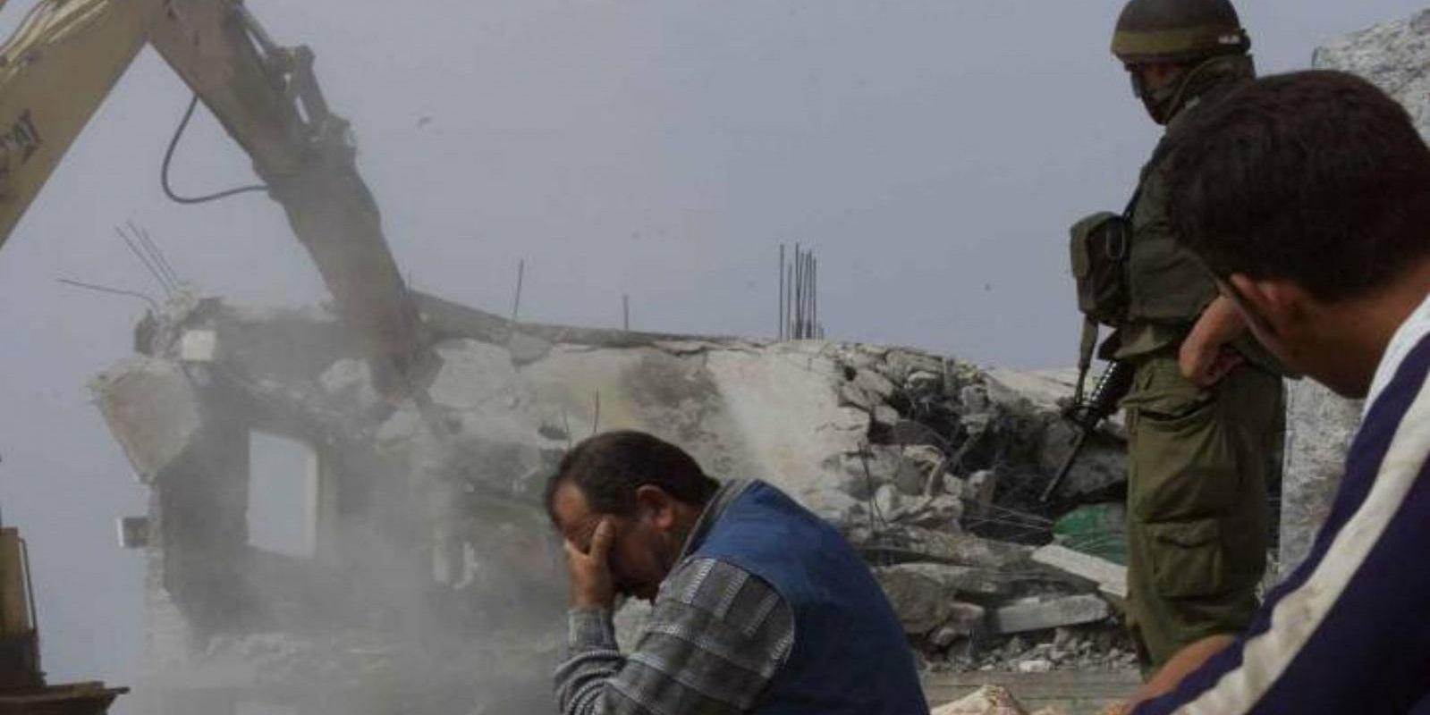 Come Abbattere Un Muro muro israeliano, case palestinesi e l'illegalità da abbattere -