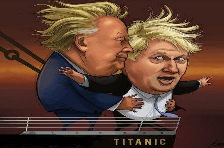 TitanicBrexit, 'Tieni gli occhi chiusi. Ti fidi di me?'
