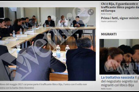 Trattativa o incontro, il boss libico trafficante di migranti in Italia
