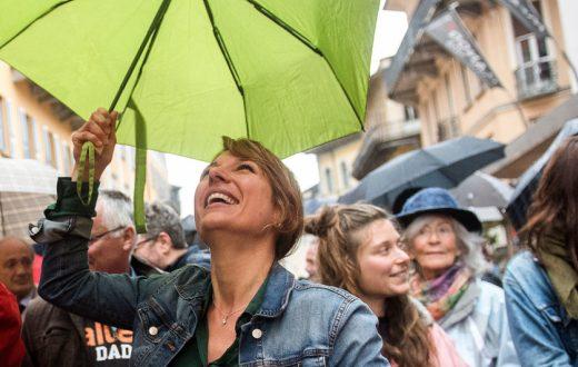 "alt=""La verde Svizzera anti-sovranista e la Greta ticinese"""