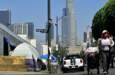 Los Angeles vietata alla miseria in strada, homeless e razzismo