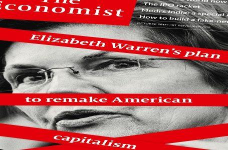Elizabeth Warren alla Casa Bianca per cambiare il capitalismo Usa