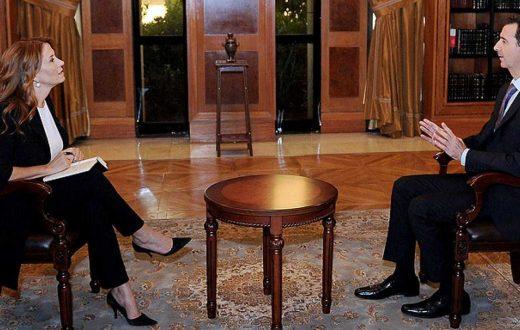 Αποτέλεσμα εικόνας για Monica Maggioni with Assad