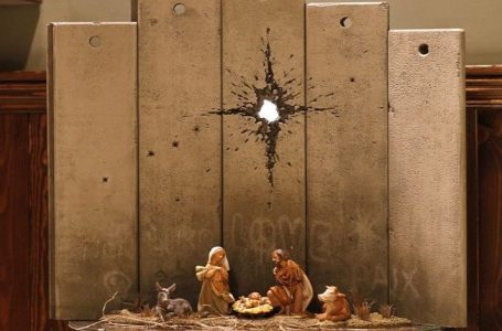 'Presepe di guerra' a Betlemme