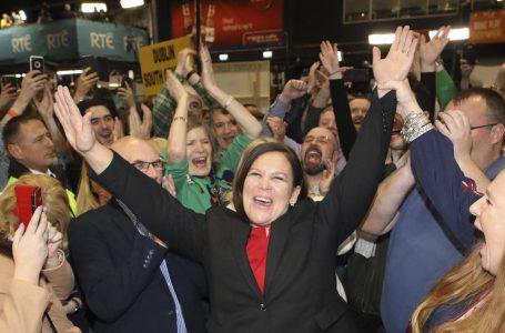 Irlanda ciclone Sinn Féin: più voti a sinistra, un seggio in più a destra