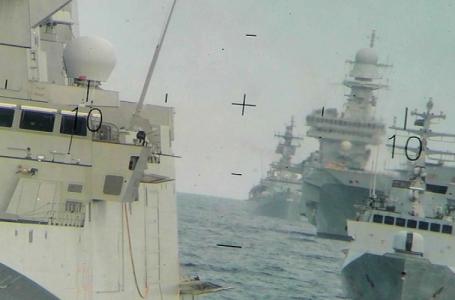 Flotte minacciose, Francia Turchia nel Mediterraneo, Europa-Hormuz