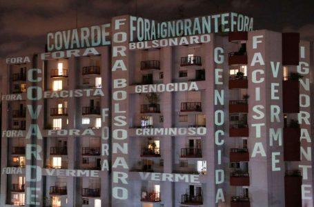 'Fora Bolsonaro' negazionista che mette in pericolo la vita dei brasiliani