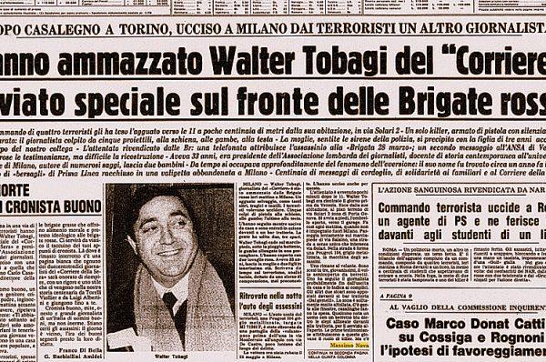 Walter Tobagi 40 anni dopo il terrorismo in casa – Massimo Nava