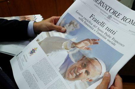 La nuova enciclica sociale di papa Francesco «Fratelli tutti», bomba politica