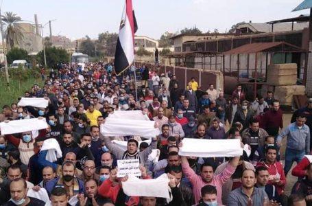 Nell'Egitto del despota Al Sisi è protesta operaia contro la casta militare imprenditrice
