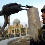 La Statua di Saddam abbattuta una delle tante bugie della guerra 2003 costruita su una menzogna