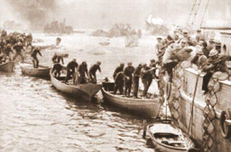 Prima fu Dunkerque, ritirata esaltata come impresa eroica a cancellare la sconfitta